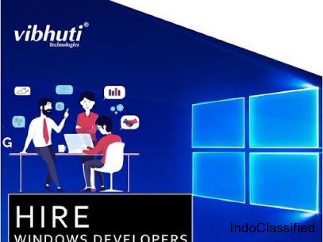 How easy to find window web developers