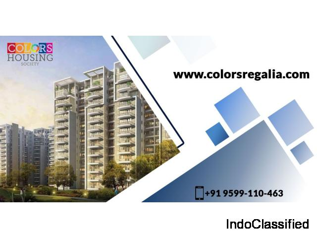 Buy spacious apartments in Dwarka Phase 2 at Colors Regalia