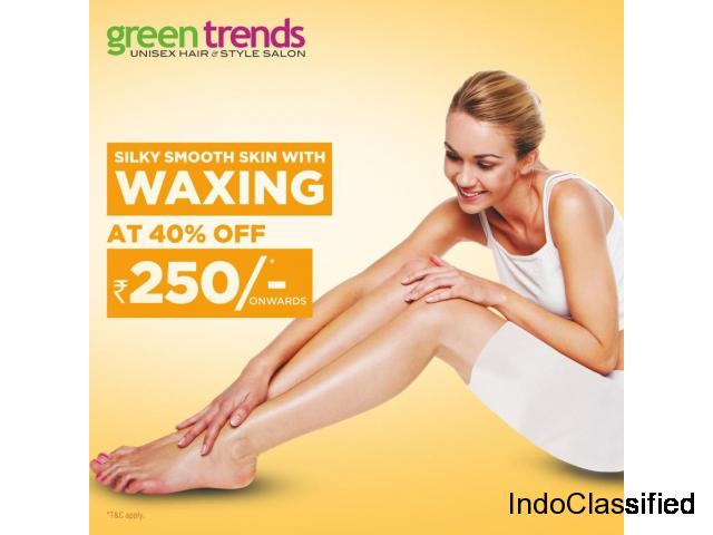 Exclusive Flavoured Waxing now @ Just 250/- Green Trends | Beauty Parlour in Thiruppunithra