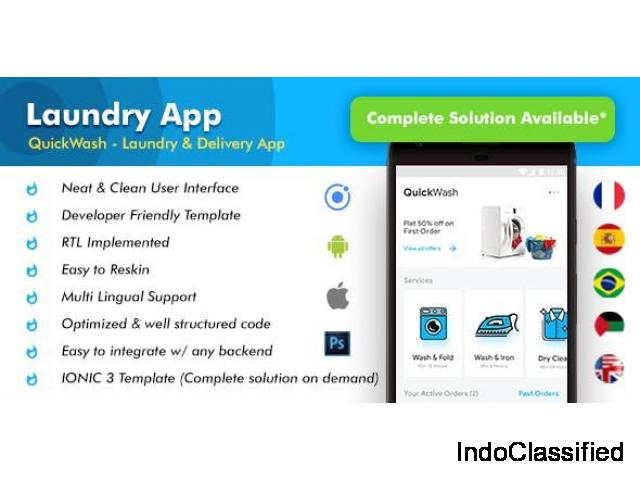 Top Laundry Clone Scripts, Check, Review, Rate, and Request for Demo