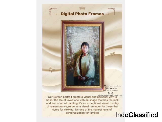 Retrato digital publicador presentación fotos funeraria