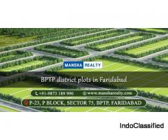 BPTP District Plots in Faridabad
