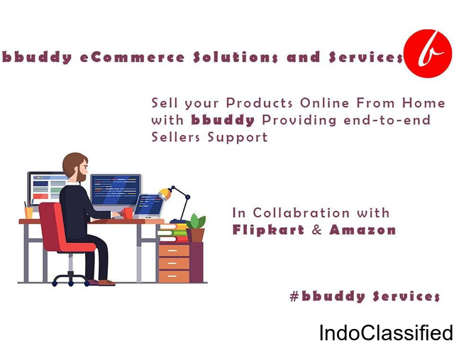 Ecommerce marketplace services for amazon and flipkart
