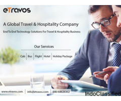 eTravos – Travel Portal Development | Travel Portal Software Solution in India