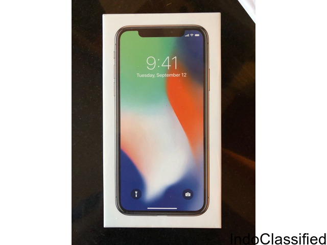 Apple iPhone X 64GB - Sprint - Space Gray Smartphone Brand New