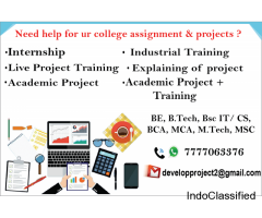 Industry Training & Academic project maker | call 7777063376