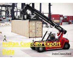 Indian Customs Export Data