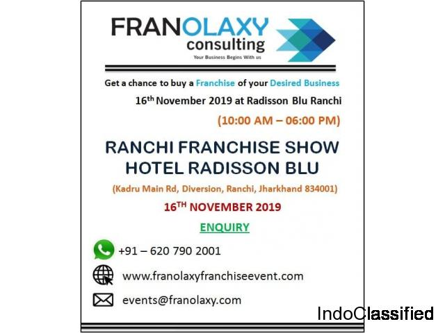 Franchise Business Opportunities in Ranchi Jharkhand