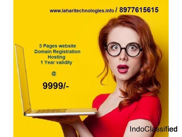 Web Designing in Lahari Technologies-8977615615