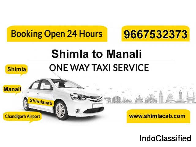 Book cab Shimla & Manali tour packages at best price available