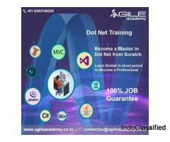 Enhance your skills in DOTNET within 6 Months by getting trained at Agile Academy.