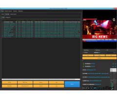 Broadcasting software with SD/HD Playout, YouTube Streaming, and High UDP Output by Logosys