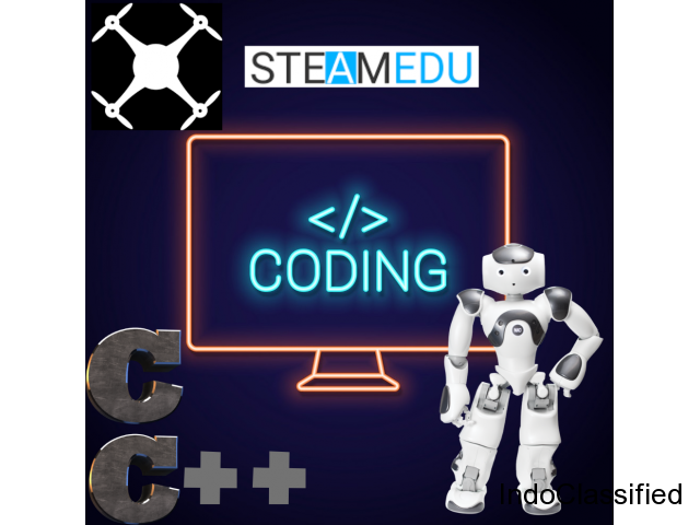 Learn C/C++ to code Robots and Drones with AI