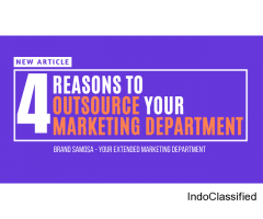 4 Reasons you should outsource your Marketing Department