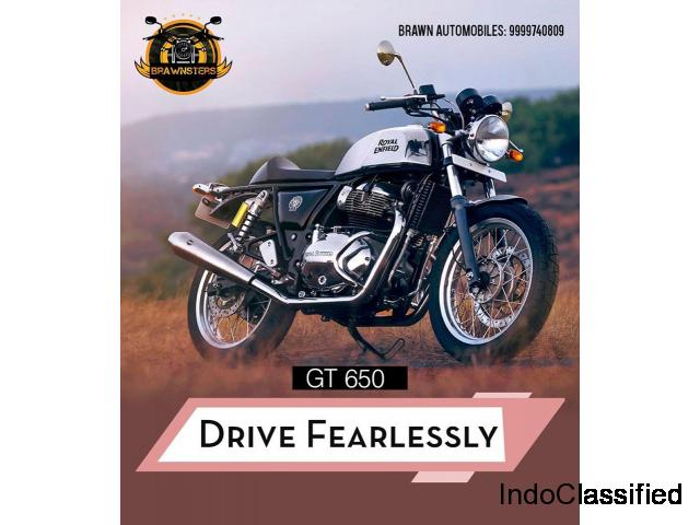 Brawn Automobiles - Royal Enfield Showroom in Gurgaon | Bullet Service Center in Gurgaon
