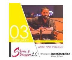 Anish Nair(Singer in Jaipur)