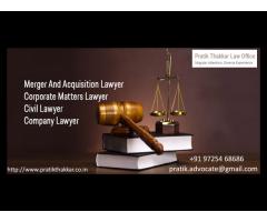 Advocate Pratik Thakkar | Insolvency Lawyers In Ahmedabad
