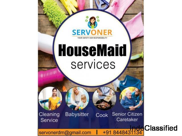 Best House Miad in Noida. Servoner Best housemiad services in Noida