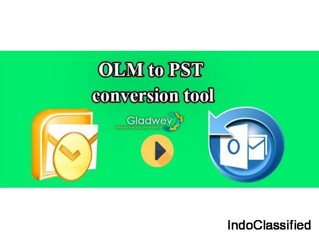 Best OLM to PST convertor