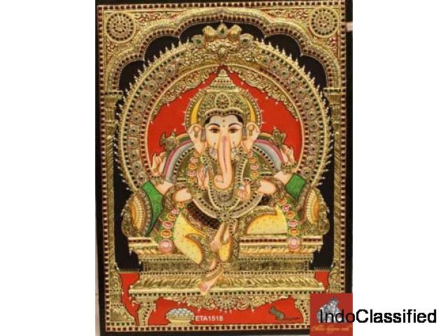 Buy Thanjavur Paintings Online Shopping - Ethnic Tanjore Arts