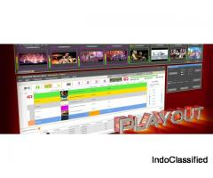 High Spec Playout Software for Broadcasting Channels | Offered by Logosys