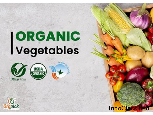Online Vegetable Shopping at OrgPick