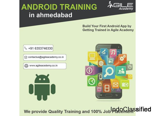 Start your career and enroll for the Android Training Course at Agile Academy