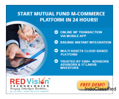 What are the advanced digital capabilities of this mutual fund software for distributors?