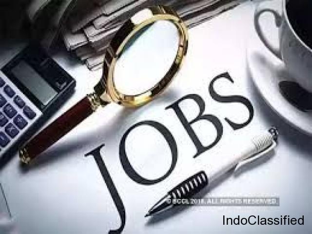 Urgent hiring for full time job
