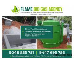 Best Biogas Plant Manufacturers in Trivandrum Kollam Attingal Kattakada Kilimanoor Nedumangad