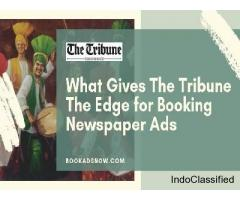 Bookadsnow - The Tribune Advertisement Booking Agency