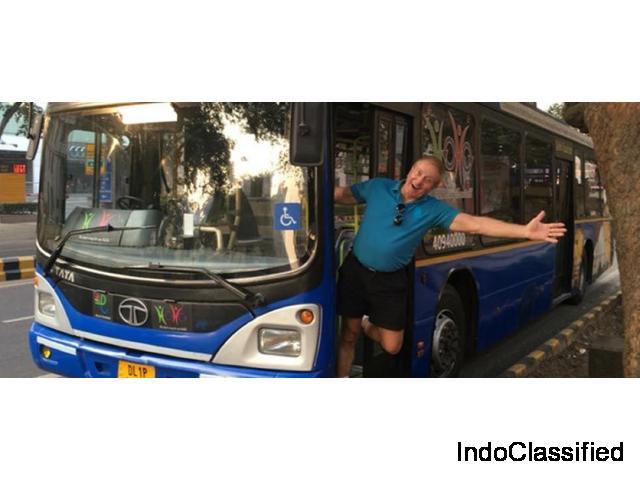 Location de voiture / minibus / bus pour votre voyage et votre circuit chez Totaltours India