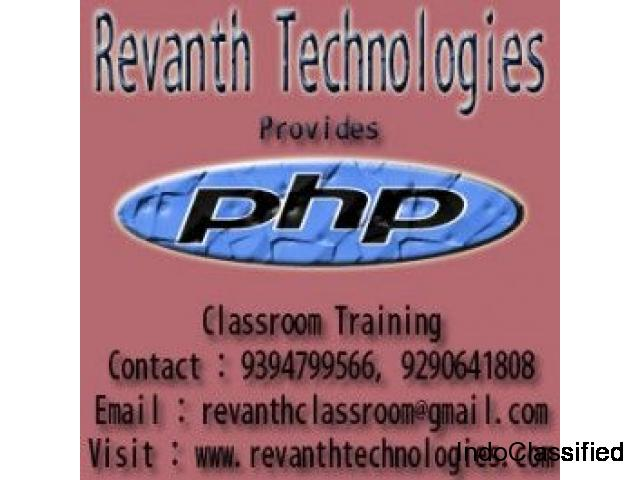 PHP Training in Ameerpet