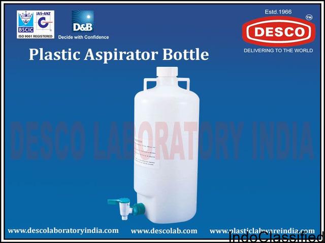 Hospital Aspirator Plastic Bottle by Plastic Labware India