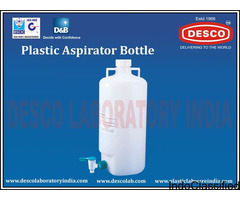 Hospital Aspirator Plastic Bottle by Plastic Labware India