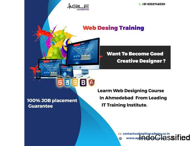 Are you willing to pursue your career in the field of web designing?