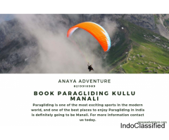 Book Paragliding in Kullu Manali at reasonable price
