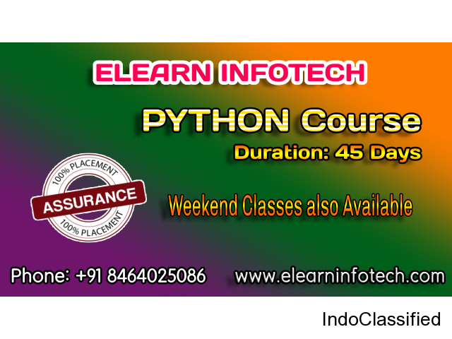 Python Training in Hyderabad with Live Projects