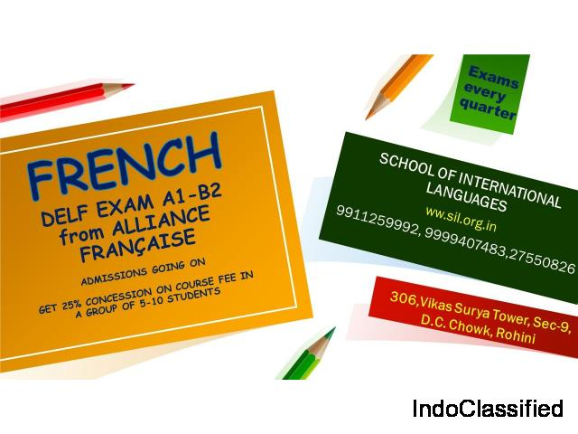 french classes institute in delhi