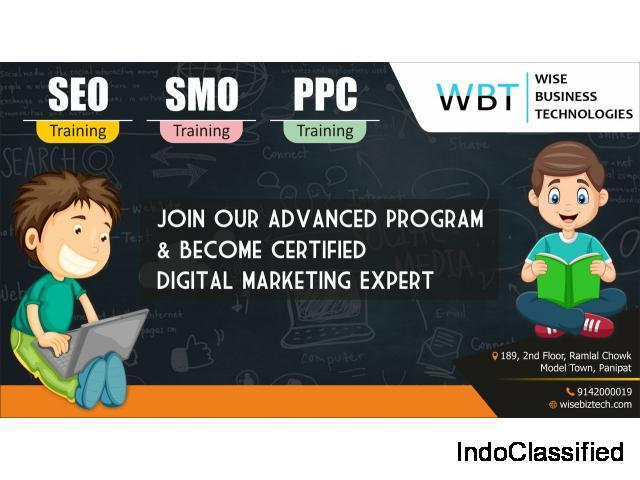 Digital Marketing Course In Panipat | Digital Marketing training with Live Project