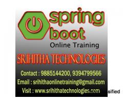 Spring Boot Online Training In India