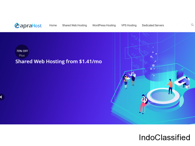 Best Shared Hosting service 2020 caprahost