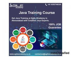 Get the Best Java Training in Ahmedabad at the Agile Academy from Professional Java Developers