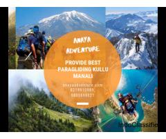 Paragliding in Himachal Pradesh - Paragliding Kullu Manali
