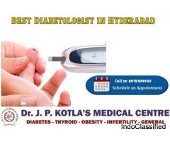 Best Diabetologist in Hyderabad – Diabetologist in Himayat Nagar