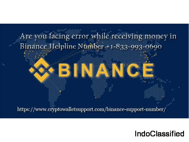 Contact Binance expert's for resolving technical issues