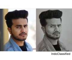 Sketch Artist In Delhi | Buy Sketch for Gift