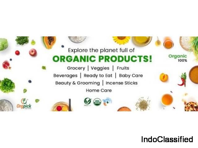 Buy Organic Products with 100% Certified Store in India