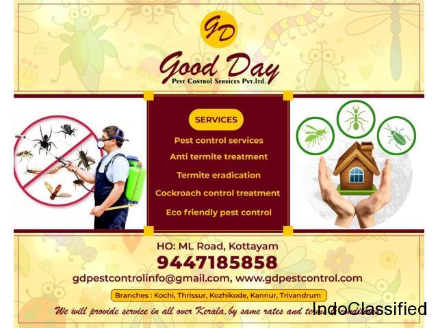 Best Termite treatment Services in Trivandrum Kollam Kottayam Alappuzha Pathanmathitta Idukki