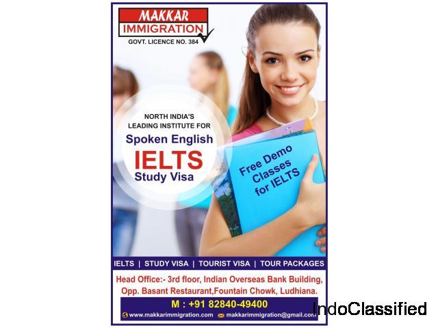 Makkar Immigration for IELTS , Study visa & Tour Packages